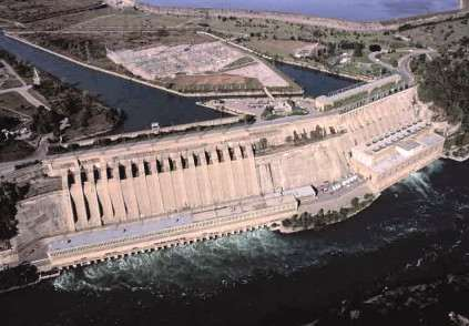 Water Diverted For Hydroelectricity