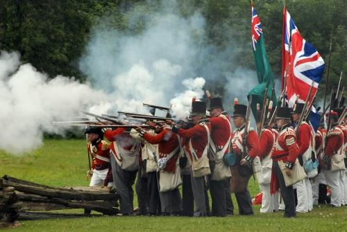 British Firing Formation - PBS War Of 1812