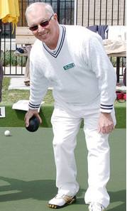 Bob Findlay Ready To Bowl