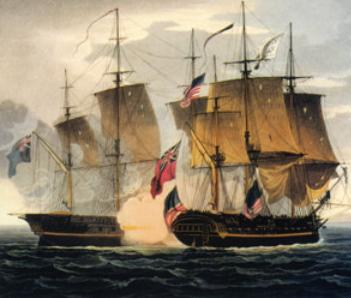Capture Of The Chesapeake - US Naval Academy Museum
