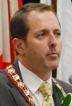 Niagara Falls Mayor, Jim Diodati
